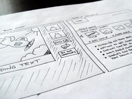Readeo BookChat Sketch