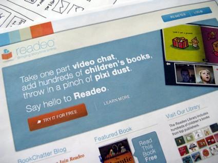 Readeo Homepage Comp